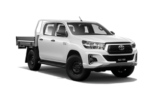 NEW 2019 Hilux SR 4x4 Dual-Cab Cab-Chassis TD Auto
