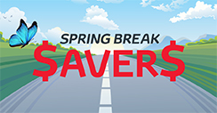 Spring Break Savers