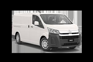 NEW 2019 Hiace LWB Van Petrol Auto