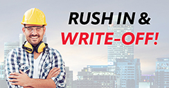 Rush In & Write-Off