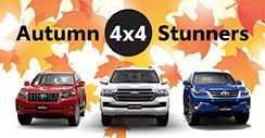 Autumn 4x4 Stunners