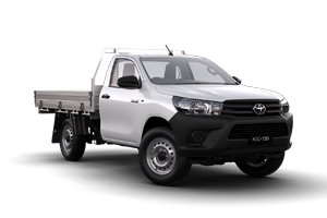 NEW 2019 Hilux Workmate 4x4 SCCC Turbo Diesel Manual with General Purpose Alloy Tray