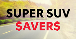Super SUV Savers