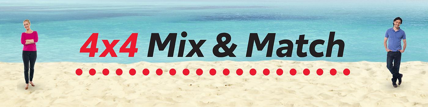4x4 Mix & Match