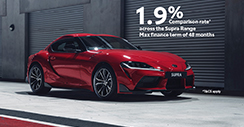 Supra Range 1.9% Comparison Rate*