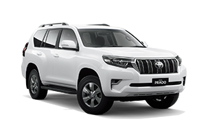 NEW 2020 Prado GXL Turbo-Diesel Auto with Leather Accented seats + Flat Tailgate