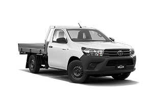 NEW 2020 Hilux Workmate Petrol 4x2 Single-Cab Cab-Chassis Manual with ELA Tray