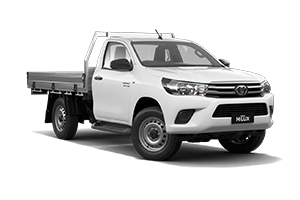 NEW 2020 Hilux SR 4x4 Single-Cab Cab-Chassis Turbo-Diesel Manual with GPA Tray