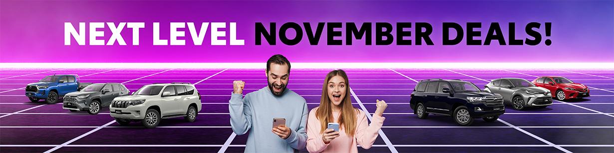 Next Level November Deals