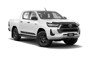 NEW 2021 HiLux SR 4x4 Double-Cab Turbo-Diesel Auto with Genuine Alloys & Satellite Navigation