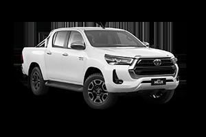 NEW 2021 Hilux SR5 4x4 Double-Cab Pick-Up Turbo-Diesel Auto