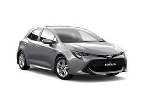 NEW 2021 Corolla Ascent Sport Hybrid Hatch CVT
