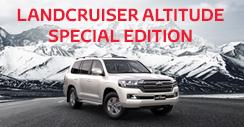 Landcruiser Altitude Special Edition