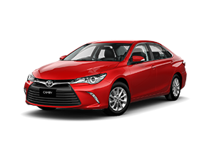 Cherry Red 2017 Camry Altise