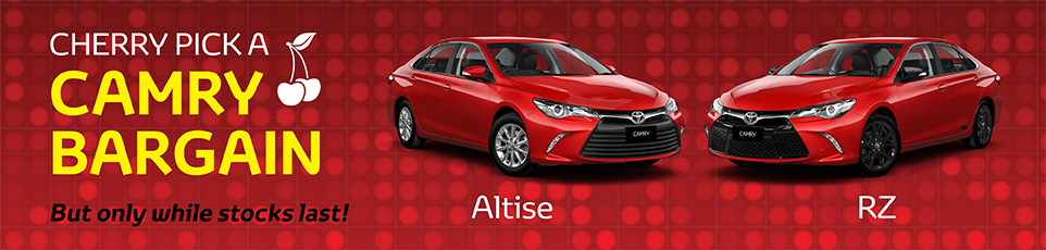 Cherry Pick a Camry Bargain