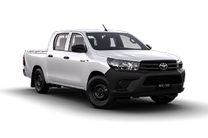 2016 Hilux Workmate 4x2 Dual Cab TD Manual