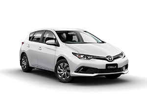 WHITE 2017 Corolla Ascent Hatch CVT (Auto)