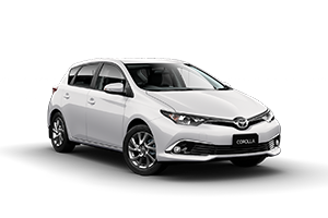 WHITE 2017 Corolla Ascent Sport Hatch Manual
