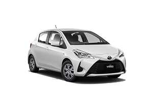 WHITE 2017 Yaris Ascent Hatch Auto