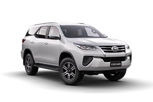 WHITE 2017 Fortuner GX Turbo Diesel Auto