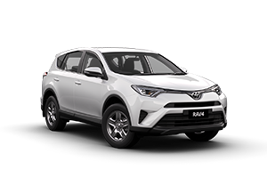 WHITE 2017 RAV4 GX 2WD CVT (Auto) with Tech Pack