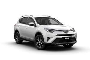 WHITE 2017 RAV4 GXL 2WD CVT (Auto) with Tech Pack