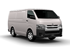 WHITE 2017 Hiace LWB Van Petrol Manual
