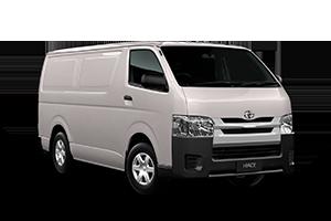 2017 Hiace LWB Van Petrol Auto