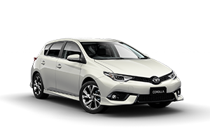CRYSTAL PEARL WHITE 2017 Corolla ZR Hatch CVT (Auto)