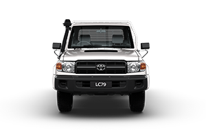 2017 Landcruiser GX Single Cab Cab-Chassis TD Manual
