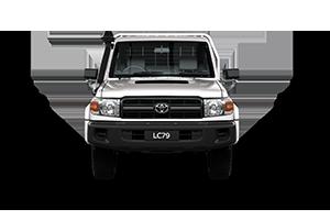 2017 Landcruiser GX Single Cab Cab-Chassis TD Manual