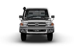 2017 Landcruiser GXL Single Cab Cab-Chassis TD Manual