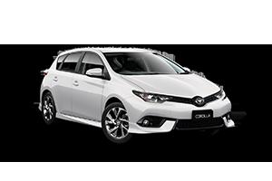 2018 Corolla SX Hatch CVT (Auto)