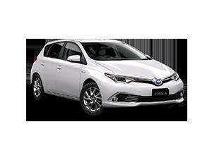 2018 Corolla Hybrid Hatch CVT (Auto)