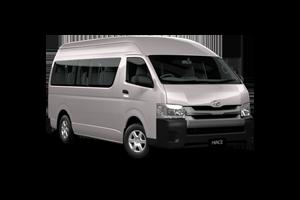 2018 Hiace SLWB Commuter Bus Petrol