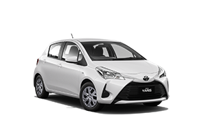 WHITE 2018 Yaris Ascent Hatch Manual