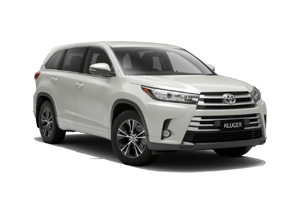 WHITE 2018 Kluger GX 2WD