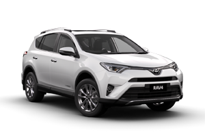 WHITE 2018 RAV4 Cruiser AWD Auto