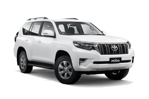 WHITE 2018 Prado GXL Turbo Diesel Manual