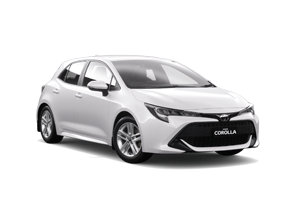 WHITE 2018 Corolla Ascent Sport Hatch Hybrid Auto