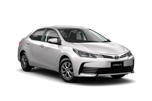 WHITE 2018 Corolla Ascent Sedan Auto CVT