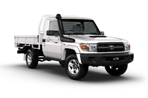 WHITE 2018 Landcruiser 70 Workmate SCCC Manual