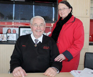 Norm and Maureen Burton Maitland Toyota