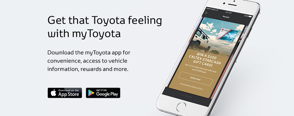 myToyota Banners