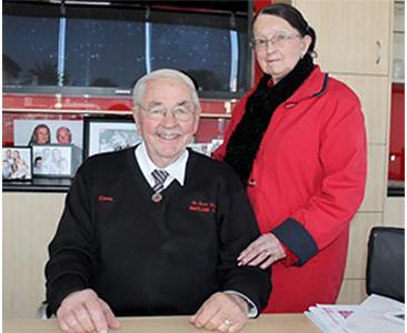 Norm and Maureen Burton Maitland Toyota