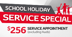 Peace of Mind School Holiday Service Special