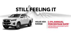 HiLux 4x4 Range 2.9% APR