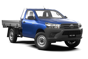 HiLux 4X4 Workmate (Single Cab Cab-Chassis)