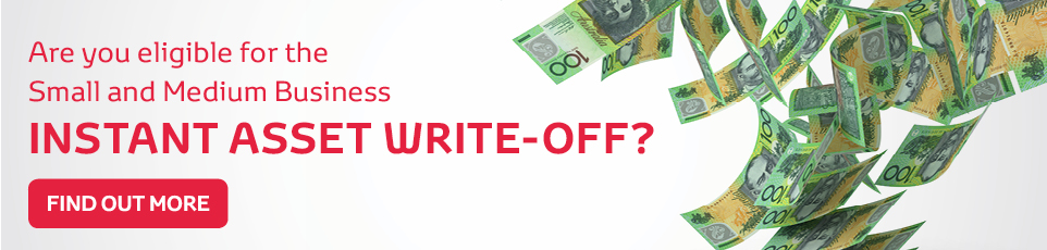 Small and Medium Business Instant Asset Write-Off Special Offers