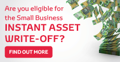 Small Business Instant Asset Write-Off Special Offers